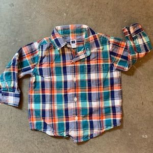 Janie and Jack boys button down shirt